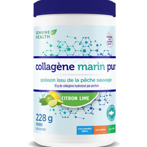 collagene marin citron lime genuine health