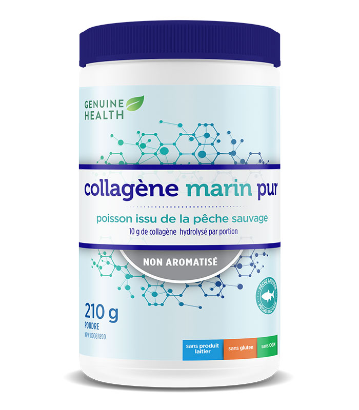 collagene marin sans saveur genuine health