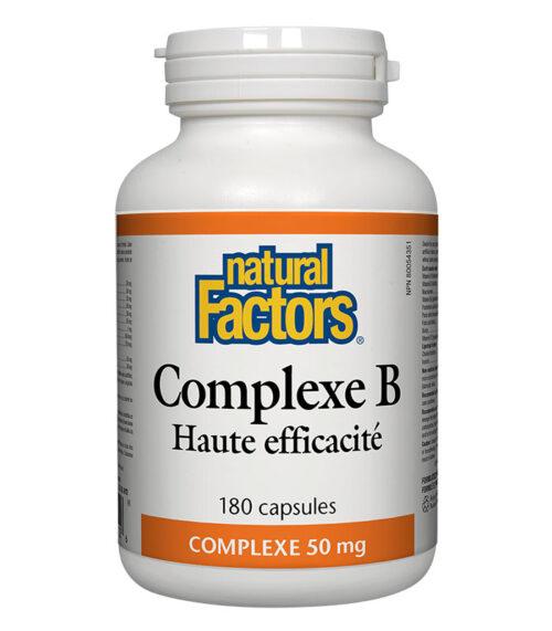 complexe b natural factors