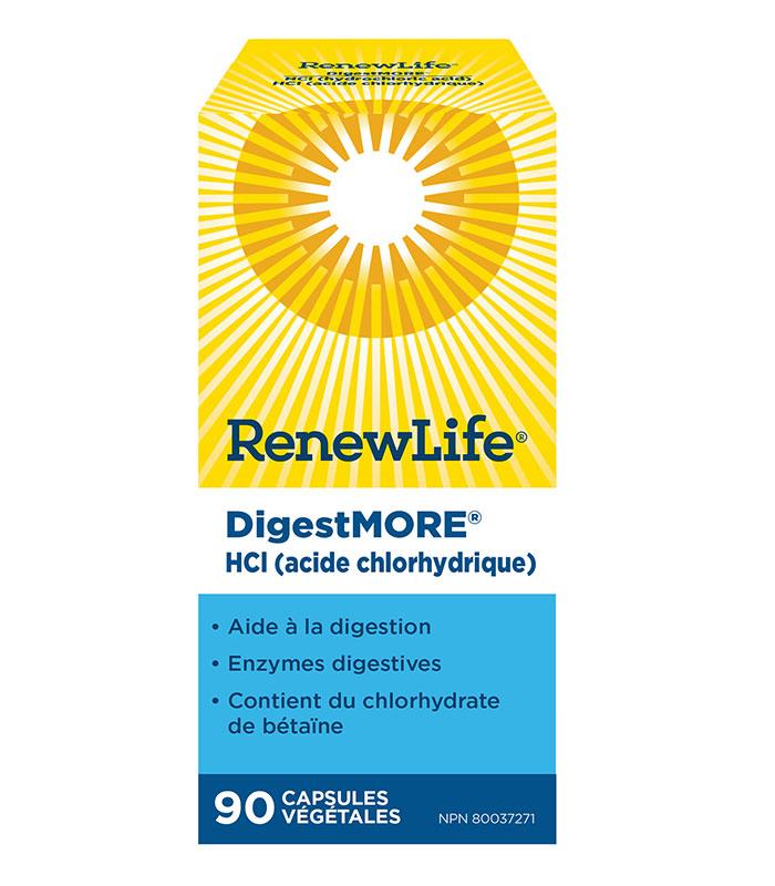 digest more hcl acide chlorydrique
