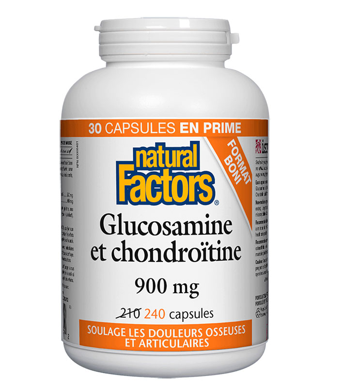glucosamine et chondroitine natural factors