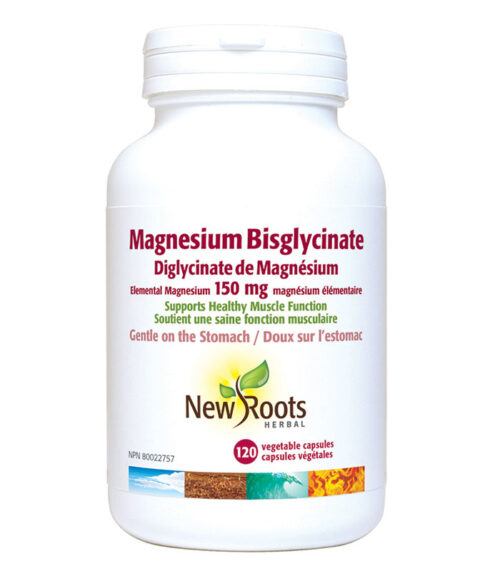 magnesium bisglycinate new roots