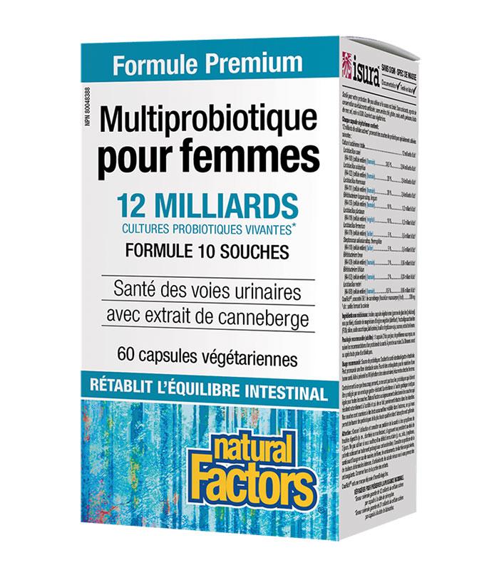 multiprobiotique femme natural factors