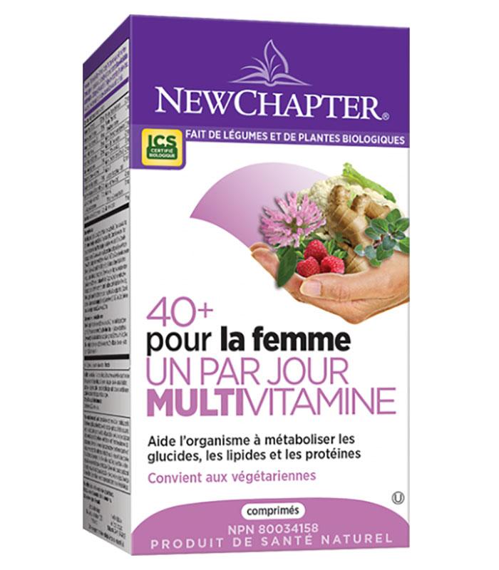 multivitamine femme un par jour 40 plus new chapter