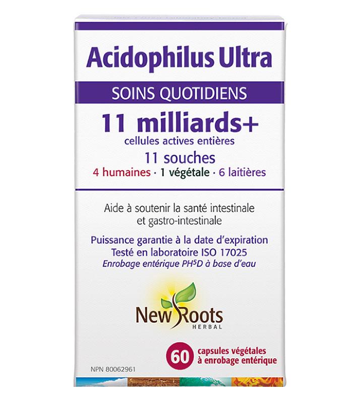 probiotique acidophilus ultra new roots