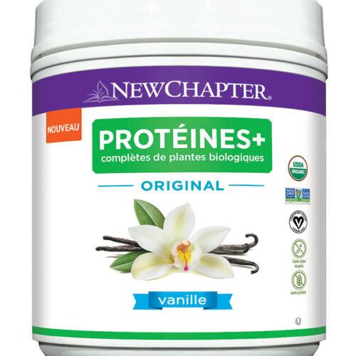 proteine plantes bio vanille new chapter