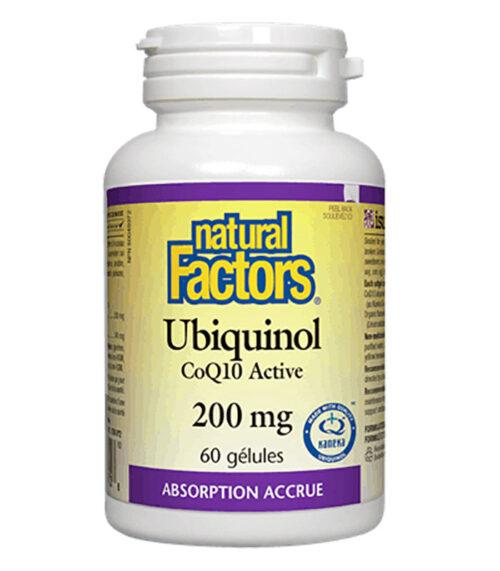 ubiquinol coq10 natural factors