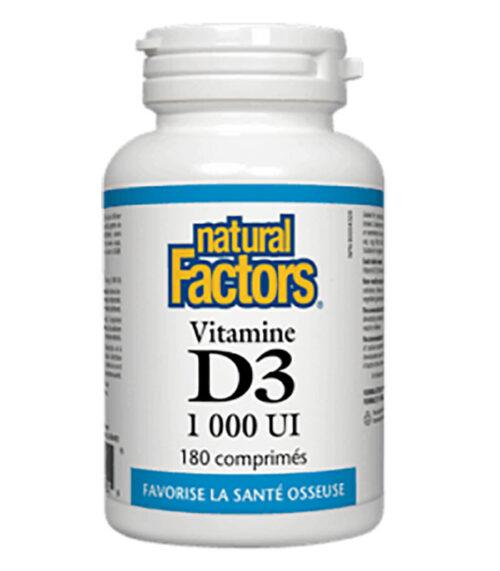 vitamine d3 natural factors