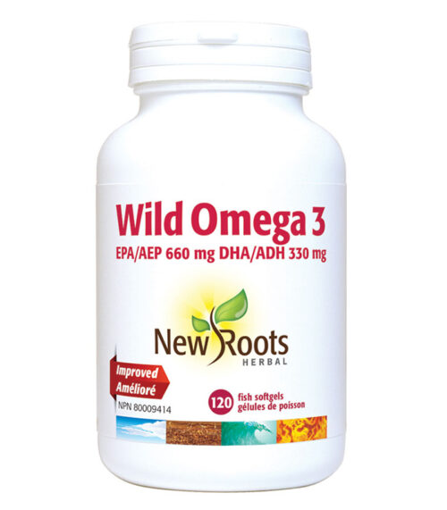 wild omega 3 new roots
