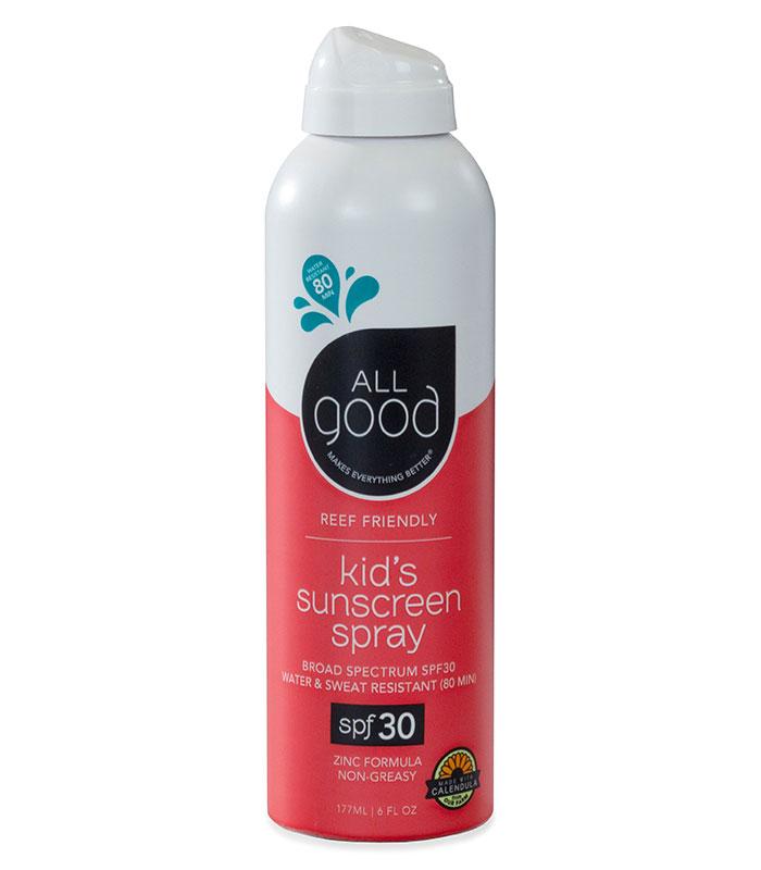 creme solaire enfants vaporisateur fps 30 all good