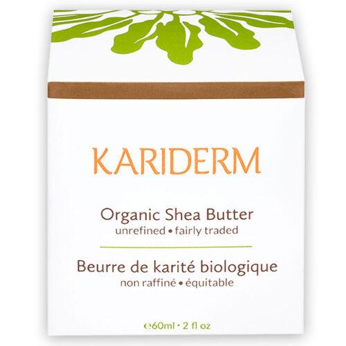 beurre de karite biologique equitable kariderm