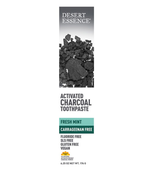 dentifrice charbon menthe desert essence