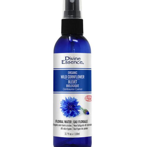 eau florale bleuet biologique divine essence