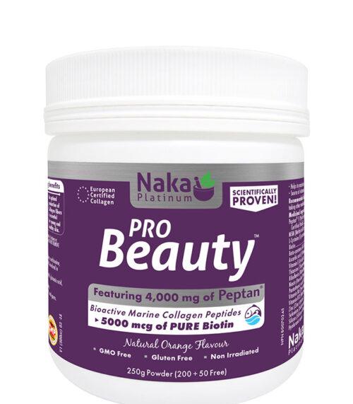 pro beauty platinum naka