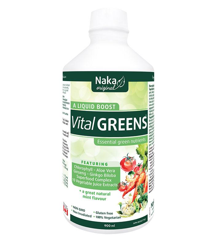 vital greens naka
