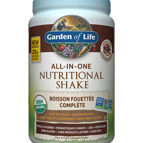 shake all in one chocolat garden of life