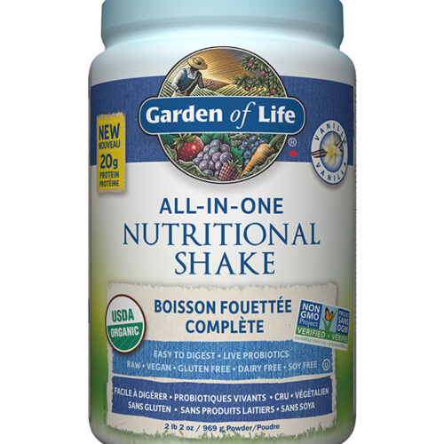 shake all in one vanille garden of life