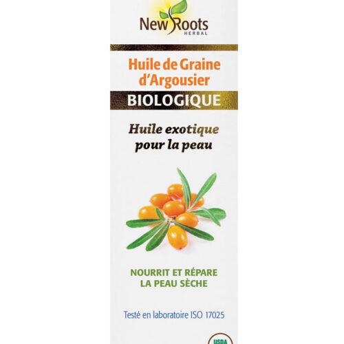 huile argousier biologique new roots