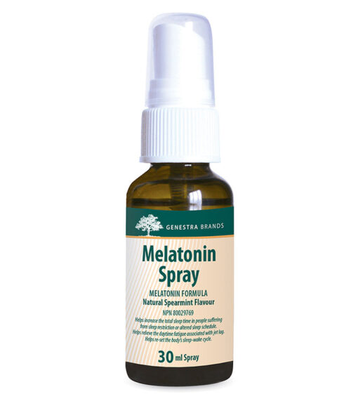 melatonine spray genestra