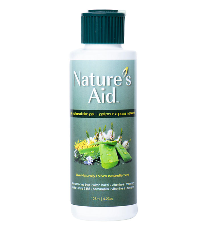 gel naturel aloes et theier natures aid