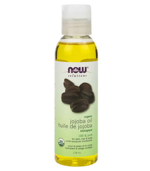 huile jojoba biologique now