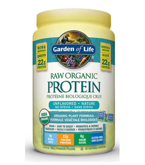 raw protein nature garden of life