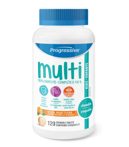 progressive multi vitamines enfants